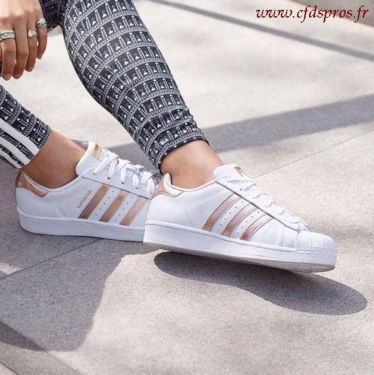 adidas superstar rose paillette