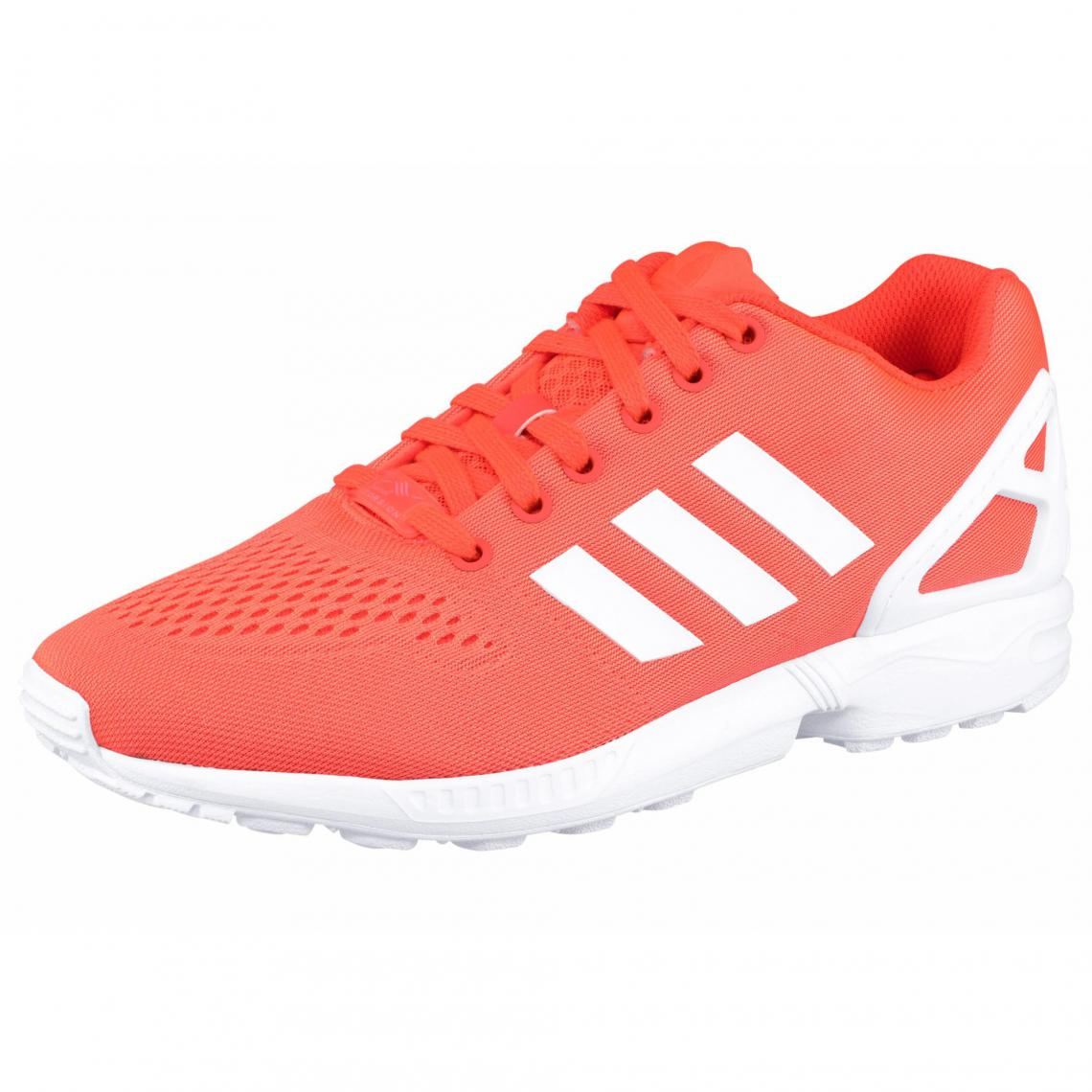 adidas zx flux orange fluo